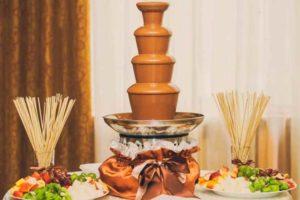 Шоколадный фонтан в подарок