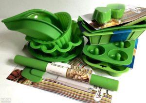 Ассортимент силиконовых форм для выпечки
