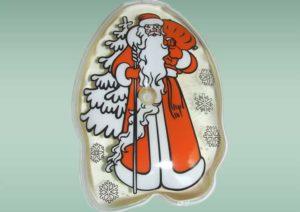 Соляная грелка с Новогодней тематикой