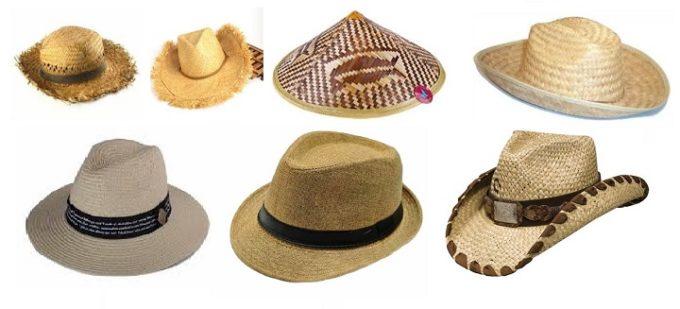 Выбор соломенных шляп