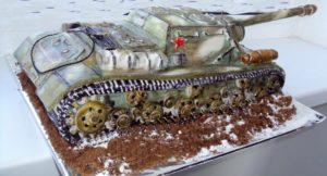 Торт танкисту