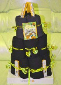 Торт из носков