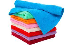 Цветные полотенца в подарок