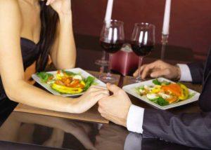 Ужин с девушкой