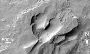 Валентинка с Марса