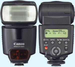 Внешняя вспышка Canon
