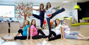 Группа для занятий спортом беременных