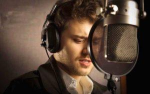 Запись трека сына в хорошей студии звукозаписи