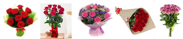9 роз для любимой жены