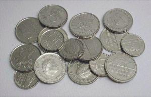 Никелевые монеты