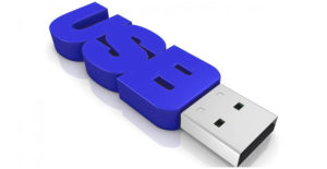 USB-накопитель в подарок