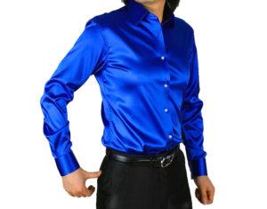 Атласные мужские рубашки