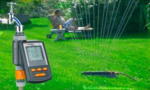 Автоматическая система полива для сада и огорода