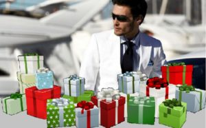 Подарки для богатого мужчины