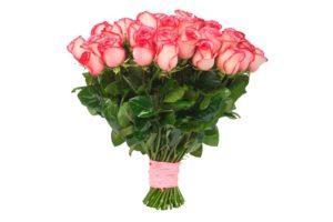Букет настоящих цветов