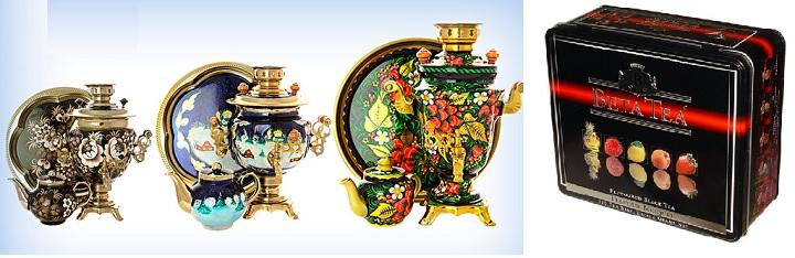 Самовар с чаем