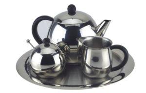 Набор для чая из никеля