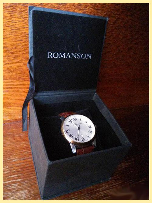 Часы в упаковке