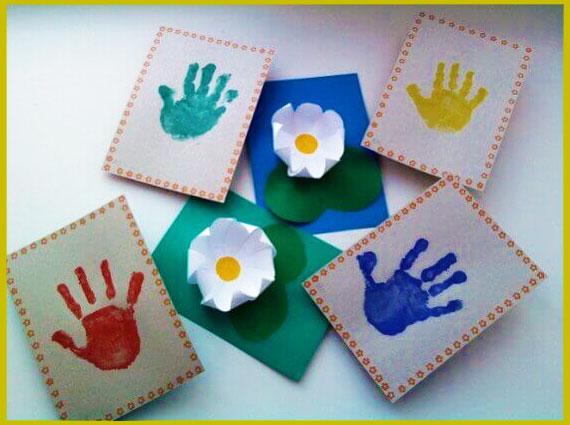 Рисунки и апликации детей