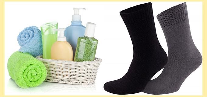Предметы личнйо гигиены и носки мужские