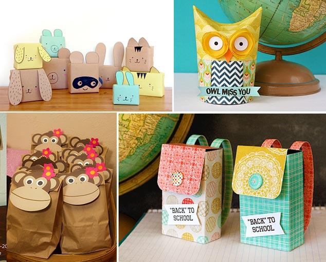 Варианты подарочной упаковки детям