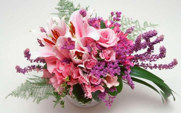 Букет из экзотических цветов