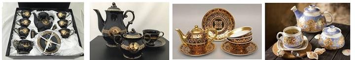 Фарфоровые сервизы чай кофе