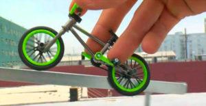 Фингербайк — пальчиковый велосипед