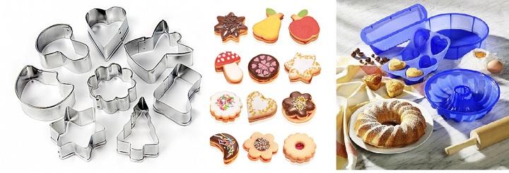 Формочки для печенья и пирогов