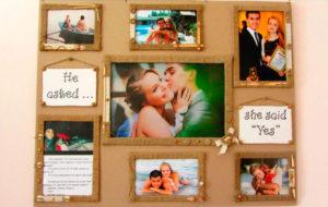 Фотоколлаж в подарок на свадьбу