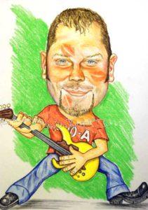 рисунок гитариста