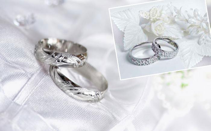 Саребрянные кольца