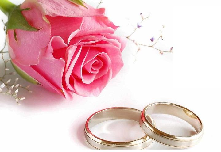 Кольца и роза