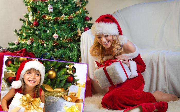 Подарки друзьям и детям на рождество