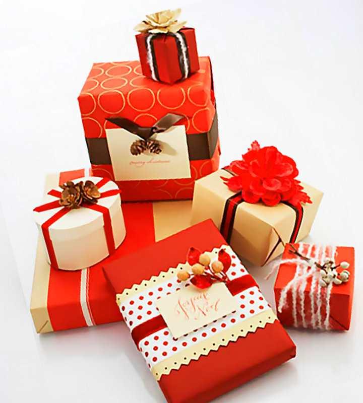 Идеи по упаковке подарков