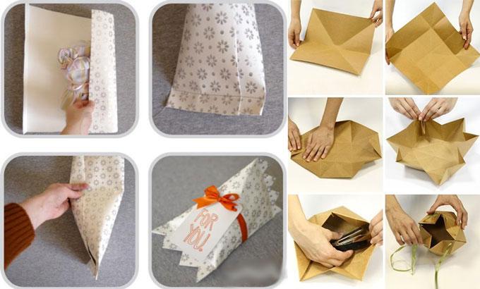 Инструкция по упаковке подарка без коробки