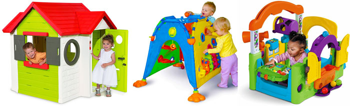 Варианты игровых домиков для детей