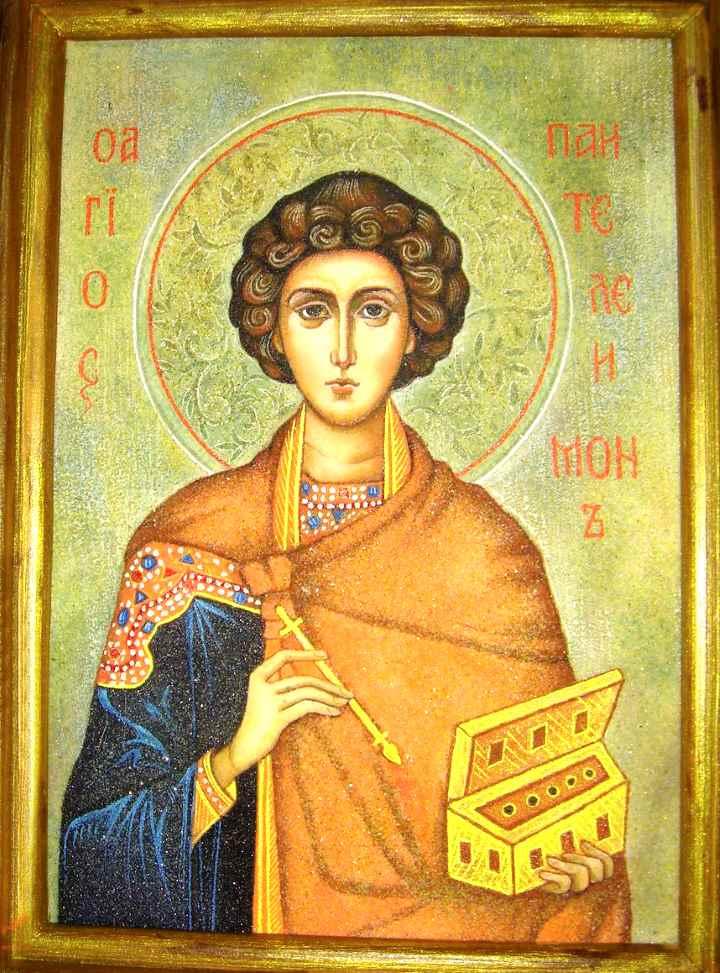 Образ Святого Пантелеймона-целителя