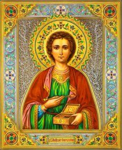 Икона Пантелеймона Целителя - покровителя медицины