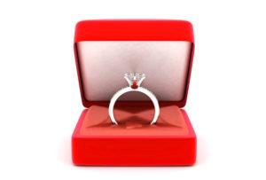 Кольцо от парня любимой на 25-летие