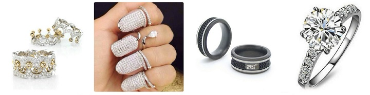 Кольцо в подарок девушке на День влюбленных