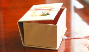 Коробка -шкатулка для подарка