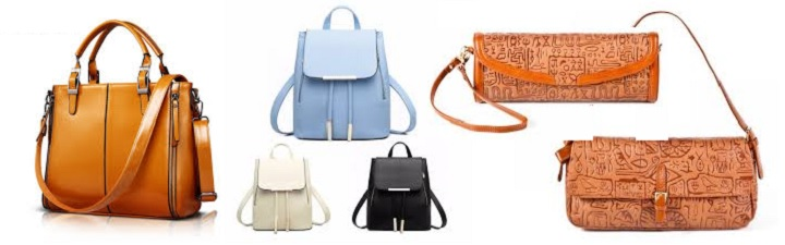 Кожаные сумки в подарок девушке
