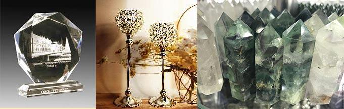 Кристаллы для декора интерьера