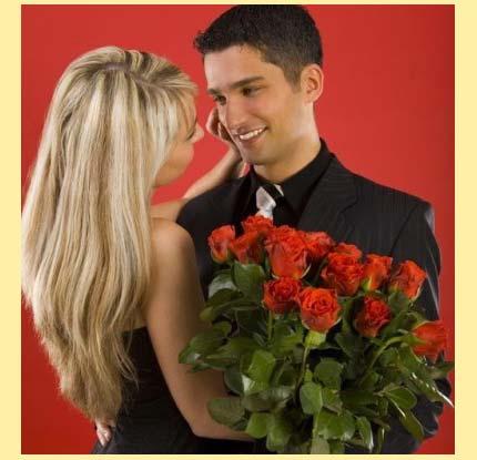 Дарить красные розы