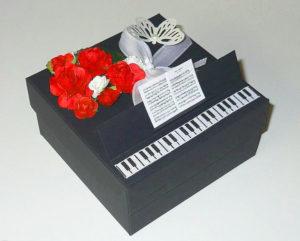 Оригинальная коробка для подарка