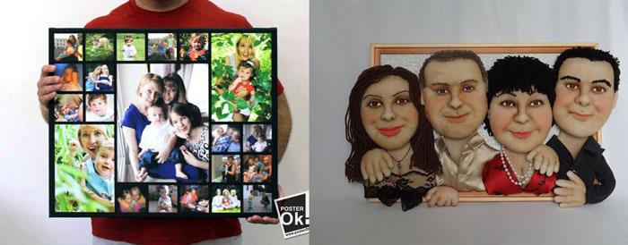 Семейный портрет и коллаж