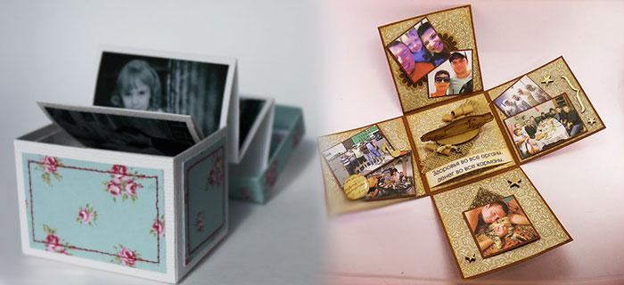 Самодельные коробочки воспоминаний