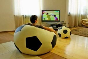 кресло-мешок футбол