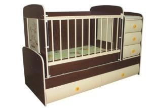 Кроватка сотруднику на рождение малыша
